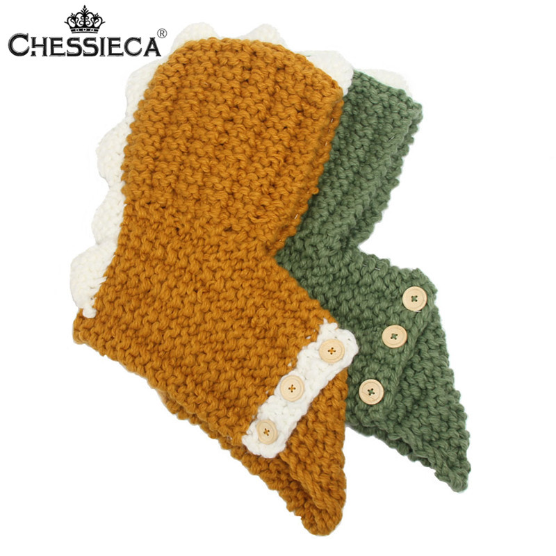 CHESSIECA Balaclava Animals Shape Hats Children Skullies Beanies Girls Cute Dinosaur Hat Kids Cotton Knitted Caps Winter Mask mttuzb newborn baby photography props infant knit crochet costume boys girls photo props children knitted hat pants set