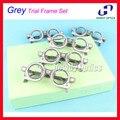5pcs TF-A Optical Optometry Trial Frame Grey Set PD 52 54 56 58 60 62 64 66 68 70 Optional