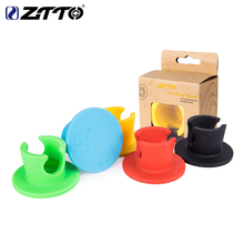 ZTTO Bicycle Parking Grip Stand MTB Road Mountain Bike Pure Silicone Gel Durable Anti-Slip Wall Racks