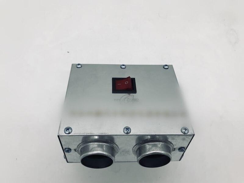 12 v 60 w 100 120 c carro anti-nevoeiro descongelar demist degelo aquecimento elétrico instantâneo aquecedor de tungstênio ventiladores wswitch 24 v opcional