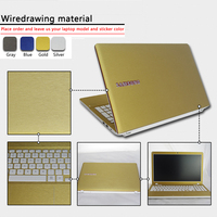 Pure Color ABC Sides Laptop Sticker Dustproof Skins For Lenovo FLEX 3 1570 Ideapad 300 14IBR