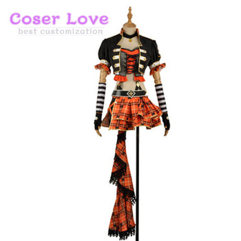 Lovelive Takami Chika punk rock Cosplay Costume New Years Christmas Costume