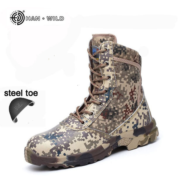 aliexpresscom buy men safety work shoes camouflage