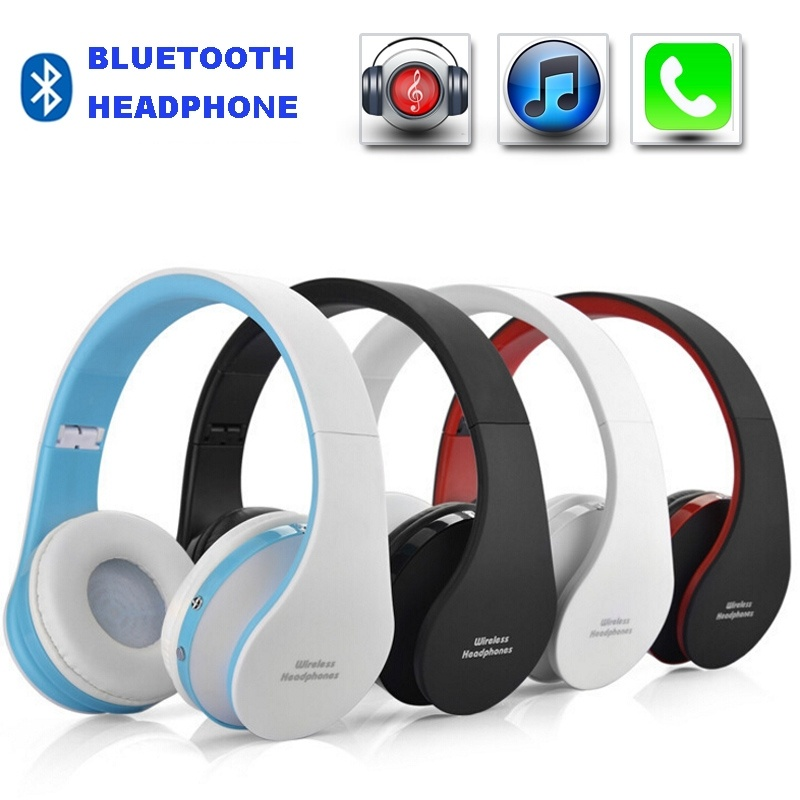 NX-8252 Profesional Plegable Inalámbrico Auriculares Bluetooth Super - Audio y video portátil
