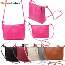 High quality 1PC Women Faux Leather Satchel Shoulder Bag Messenger Tote Handbag