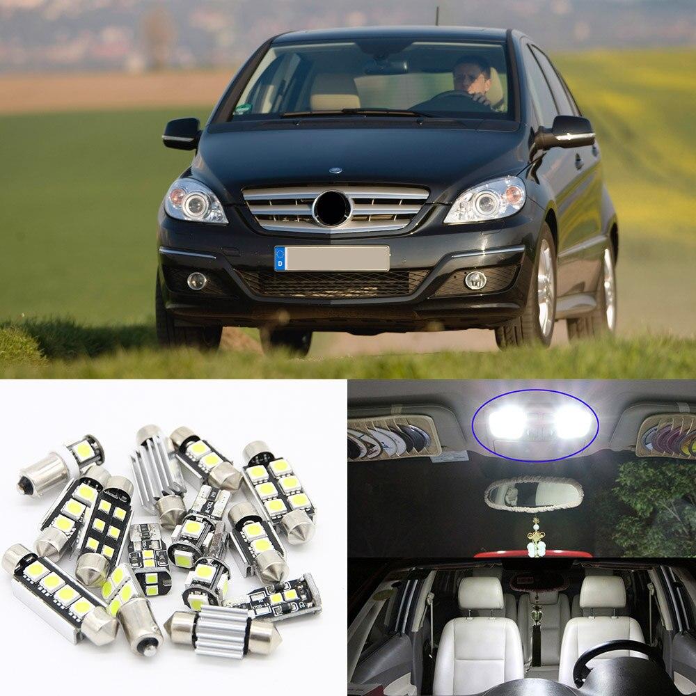 13x for Benz B-Class W245 05 06 08 09 10 11 Canbus White LED Light Interior Kit