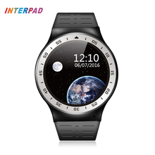 Interpad MTK6580 Smart Watch Android 5.1 Quad Core 8GB ROM Heart Rate Smart Electronic Wrist Watches Can Change English Language
