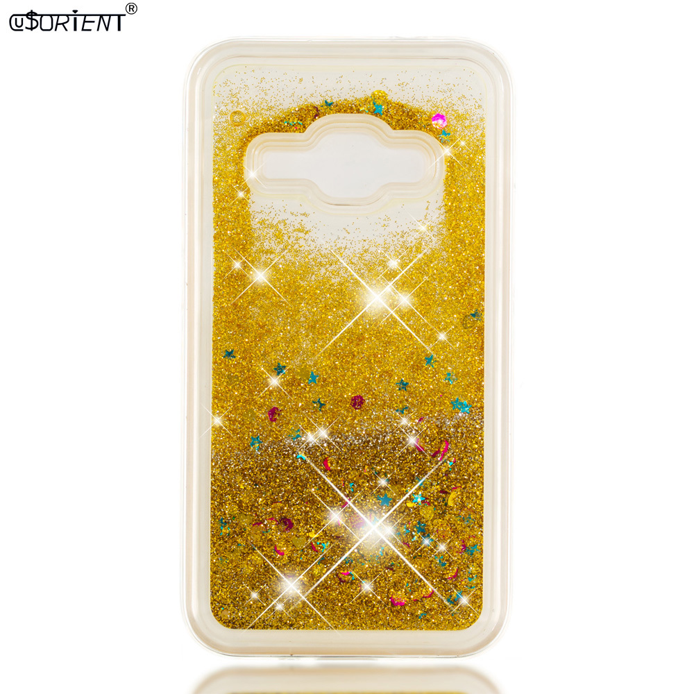 Phone Bags & Cases Half-wrapped Case Bling Phone Case For Samsung Galaxy J1 2016 J16 Glitter Quicksand Liquid Silicone Cover Sm-j120f/ds Sm-j120fn Sm-j120h/ds Funda