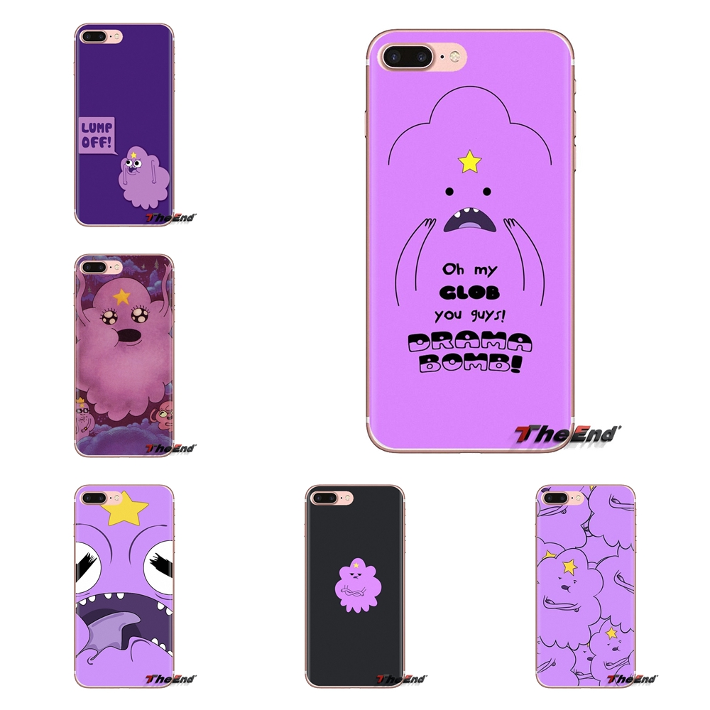 For iPod Touch Apple iPhone 4 4S 5 5S SE 5C 6 6S 7 8 X XR XS Plus MAX adventure time lumpy space princess Soft Silicone TPU Case
