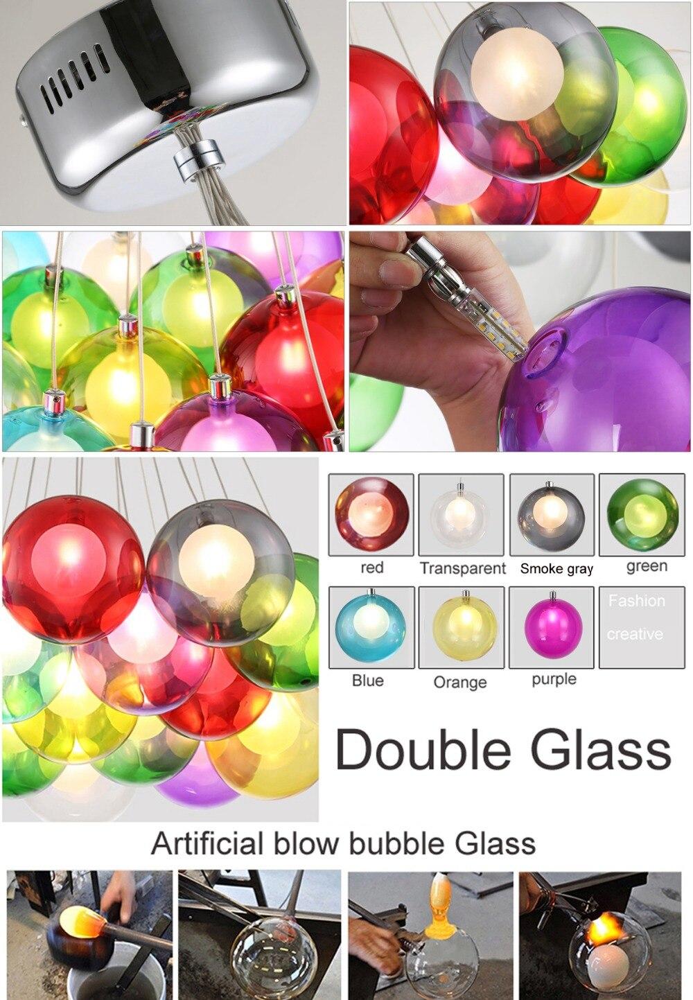 Fein Farbige Glas Pendelleuchten Für Kücheninsel Zeitgenössisch ...
