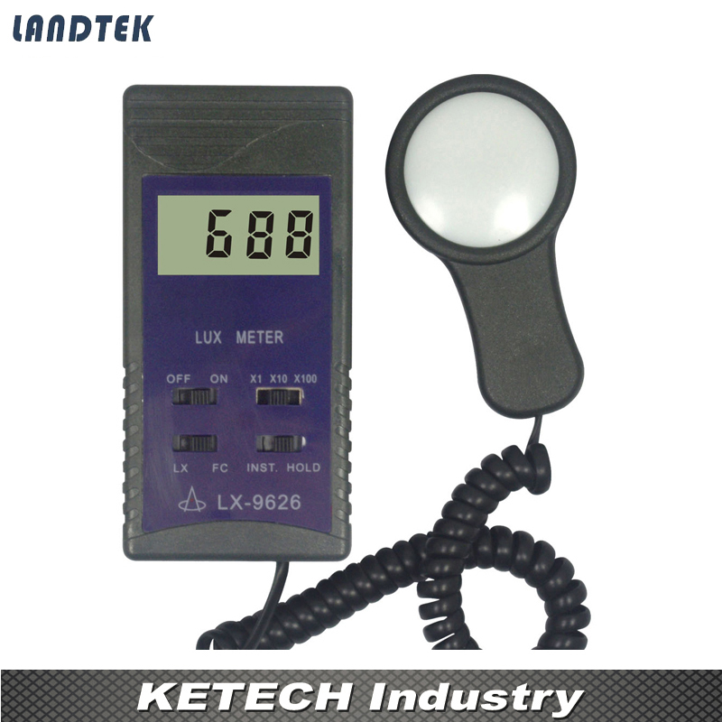 Environmental Light Tester Lux Meter Gauge UNIT:50000Lux,5000FC Tools LX-9626