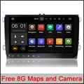 "9""CAR DVD GPS navi 1024x600 Android 6.0 for VW golf 5 6 touran passat B6 sharan jetta caddy Tiguan EOS Radio GPS navi map camera"