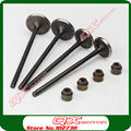 NC250 engine parts valve kit Zongshen 4 vavles Engine parts Valve IN/EX and Valve Oil sea kit Free shipping