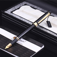 Pimio Picasso Vulpen Picasso Ps 917 Gouden Clip Zilver Student Leraar Business Romeinse Stijl Geschenkdoos Verpakking Gratis Verzending