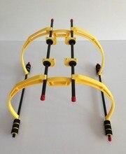 LHM067 drone quadrocopter dron tall Landing Skid Gear Kit de Soporte Hexacopter Universal 200mm amarillo