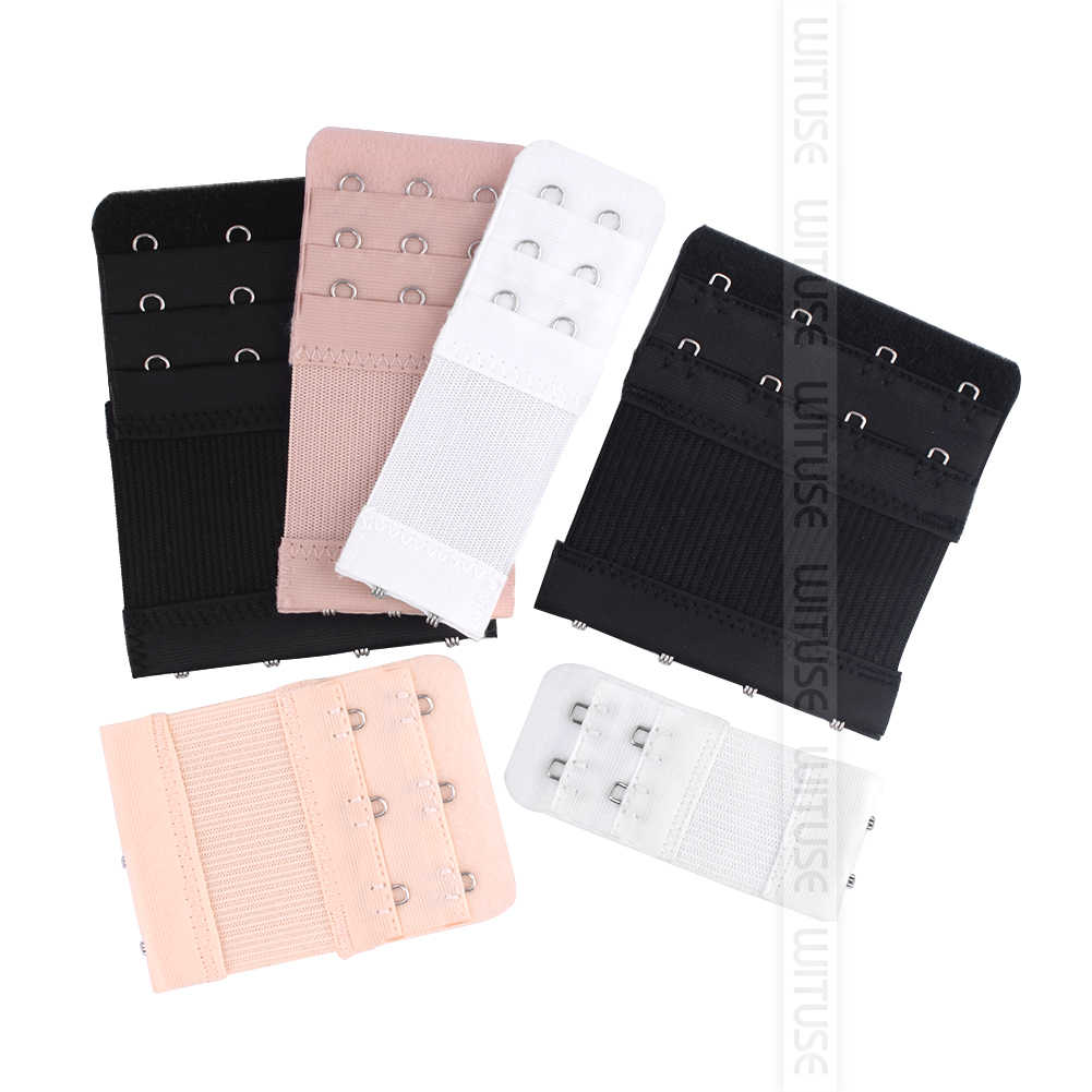 1PC Bra Extenders Strap Buckle Extension 2/3/4 Hooks Clasp Straps Women Bra Strap Extender Sewing Tool Intimates Accessories