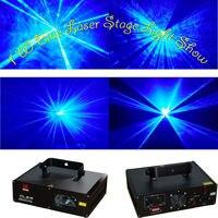1 Watt Bühnenbeleuchtung KTV Laser Disco Licht 1000 mW 450nm blaue laser B1W-in Bühnen-Lichteffekt aus Licht & Beleuchtung bei