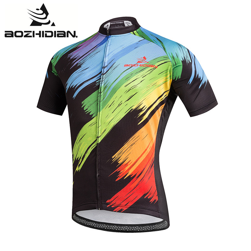Prix pour 2017 A81 Hommes Spécialisée Cyclisme Maillot Personnalisé Drôle Maillot Ropa Ciclismo Clothing Manches Courtes Pro Team Été Cycling Jersey