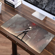 FFFAS 70x30cm Speed Large Mouse Pad Mat Washable Gaming Big Mousepad Desk Cushion NieR Automata YoRHa Keyboard Shop Gift Prize(China)