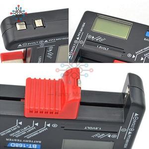 Image 5 - Comprobador de batería LCD Digital Universal, BT 168 LED, comprobador de voltios, celda AA AAA C D 9V 1,5 V, botón
