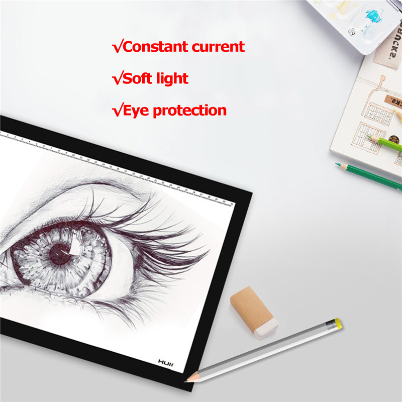 A4 Drawing Tracing Board LED Light Box Drawing Pen Tablet Graphics Drawing Pen Tablet Display Digital Graphics Drawing Monitor xp pen artist22e fhd ips pen display monitor graphics drawing tablet with 16 express keys