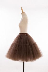 "Image 3 - 26 ""VINTAGE Petticoat Crinoline 50 S Retro กระโปรง Swing Rockabilly แฟนซีสุทธิ Tutu กระโปรงเจ้าสาวอุปกรณ์เสริม 2020"