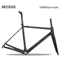 MIRACLE Carbon Bike Frame Road, T1000 Carbon Racefiets Frame cadre bicicleta Carbon Road Frame 48/50/52/54/56/58/60 CM