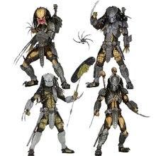 Neca avp alienígena vs predador mascarado cicatriz predador celta figura chopper cicatriz predador figuras de ação brinquedos coleção modelo 18cm