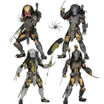 NECA-figuras de acción de Alien, modelo de colección de 18cm, Predator, cicatriz...