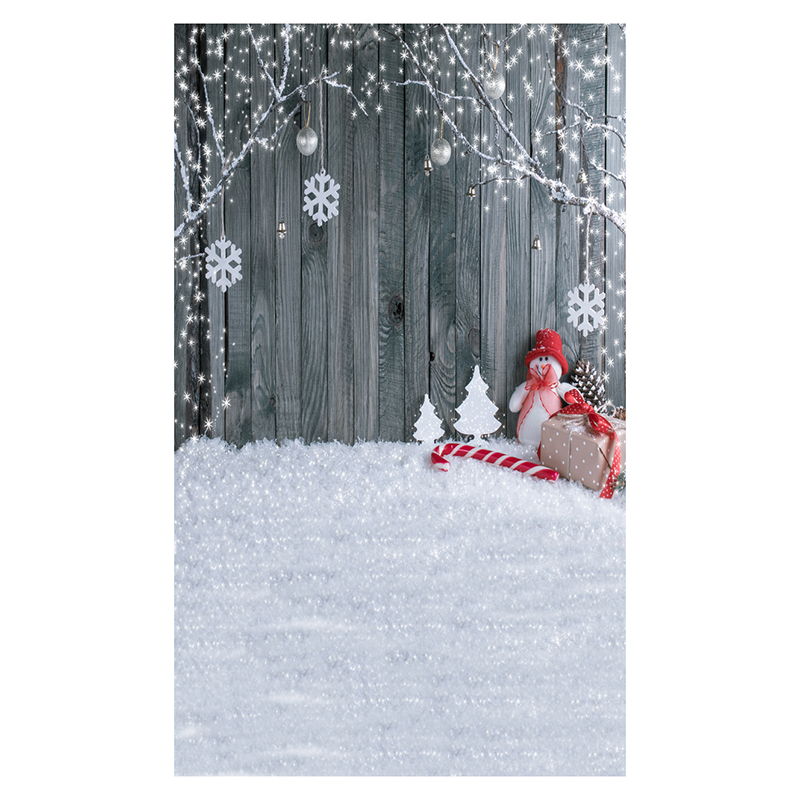 5X7FT 150X210CM Vinyl Christmas theme picture cloth photography background studio props Snow, wooden wall, snowman, gift box,c edt 5x7ft 150x210cm vinyl christmas theme picture cloth photography background studio props wooden floor background wall ligh
