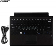 Wireless Bluetooth Slim Keyboard Touchpad for Microsoft Surface Pro 3/4 Tablet - L059 New hot