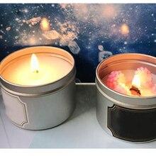 Пустые свечи контейнер баночки пустые косметические баночки для бальзама для губ, поделки, косметика, свечи, конфеты, ароматические свечи 65x25 мм