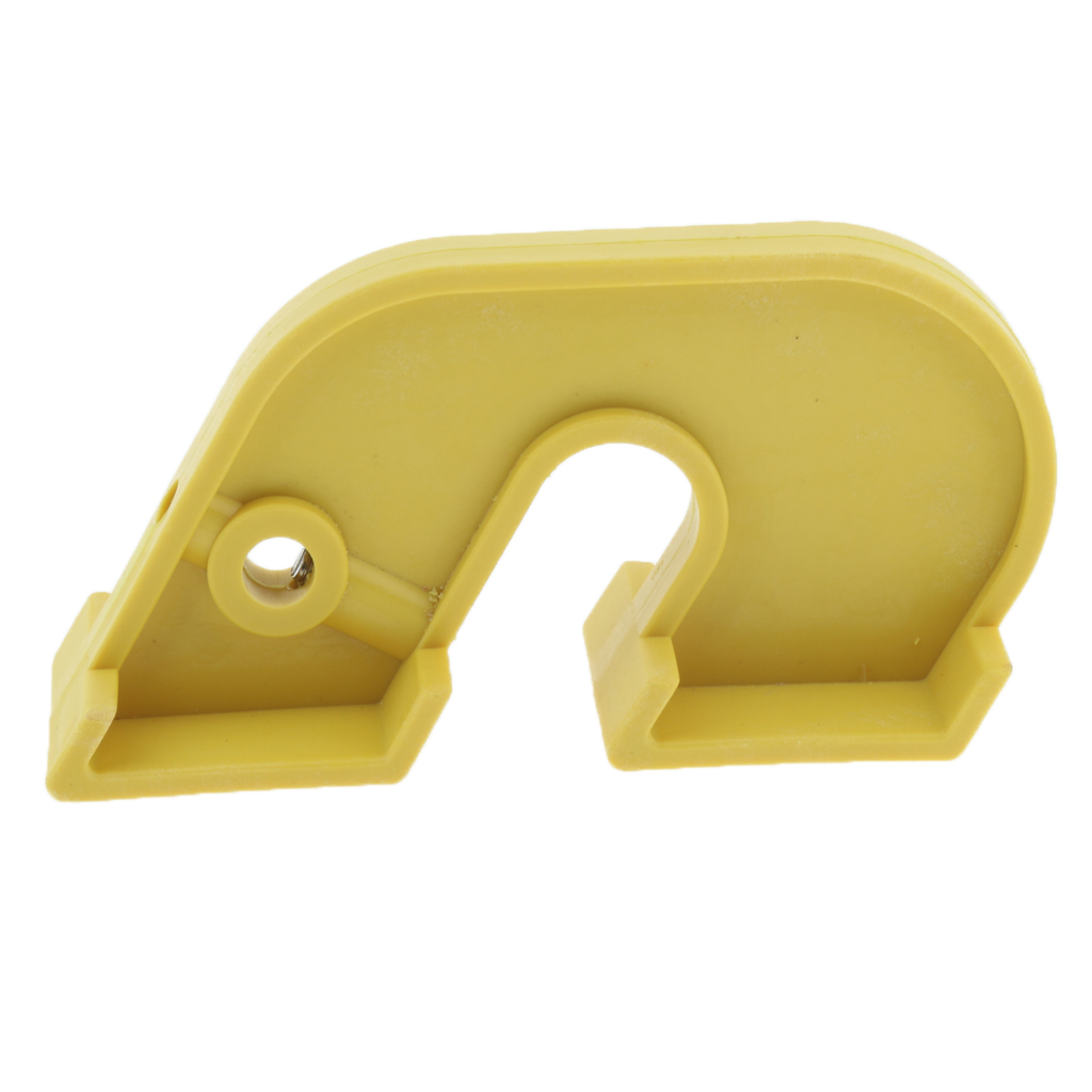 Низкая цена нейлоновое устройство для блокировки размыкателя цепи устройства блокиратор mcb безопасный замок желтый цвет