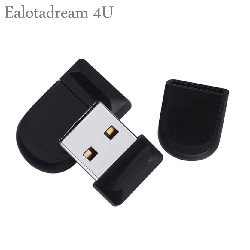 Ealotadream 4U Mini USB Flash Drive 1GB 2GB 4GB 8GB USB 2.0 Mini Pendrive Plastic Portable for Macbook HP Xiaomi USB Flash Drive