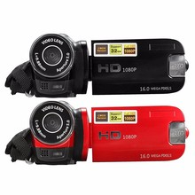 2.7 дюймов Видео Камеры TFT ЖК-ДИСПЛЕЙ HD 1080 P 16MP 16X Цифровой DV Камеры Видеокамеры Видеорегистратор ЕС Plug Черный красный