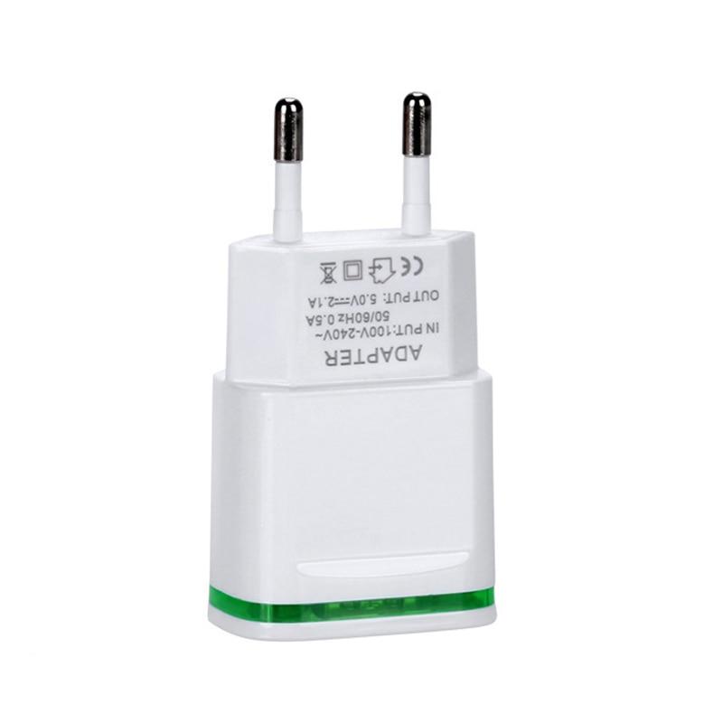 GEUMXL Dual USB EU Plug Travel Charger 3F Type C USB Cable for - Ανταλλακτικά και αξεσουάρ κινητών τηλεφώνων - Φωτογραφία 3