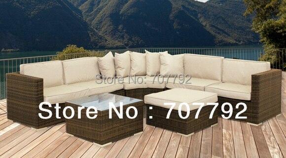 2017 New Design Outdoor Rattan Cheap Patio Furniture Sets