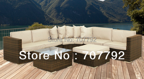 2017 New Design Outdoor Rattan Cheap Patio Furniture Sets