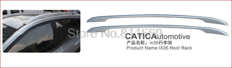 For Hyundai Tucson ix35 2010 2011 aluminum alloy OE Style Roof Rack Side Rails Bar Auto Parts Molding Trim