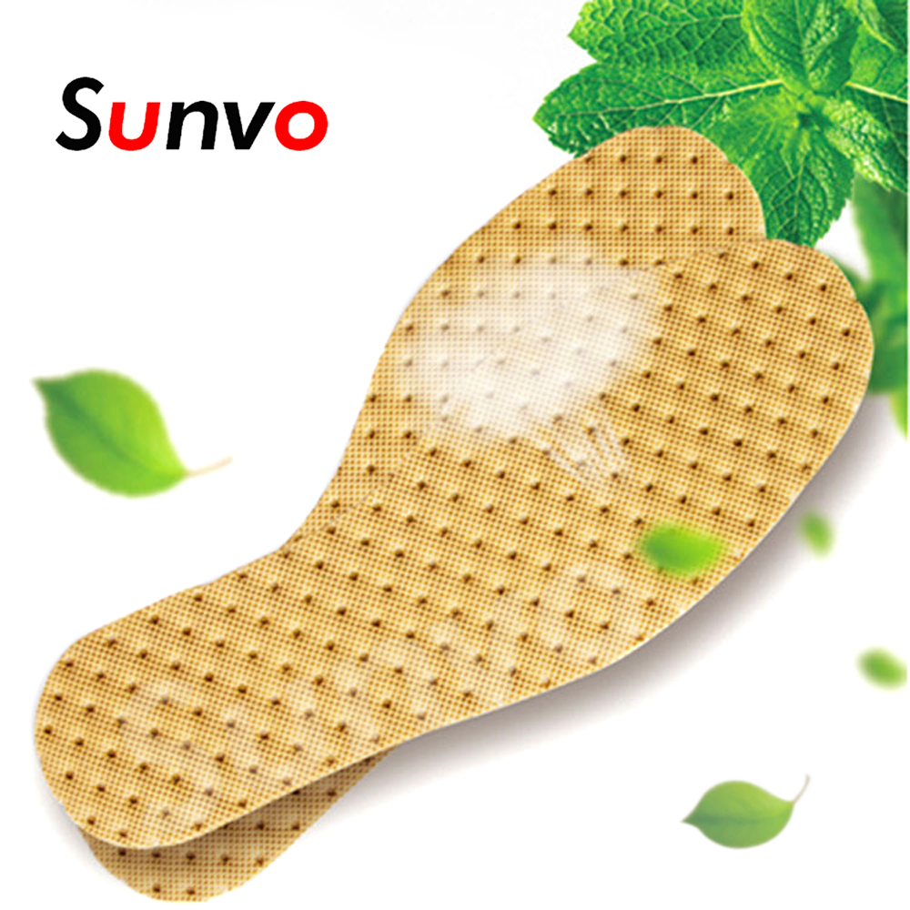 Sunvo Deodorant Insoles For Foot Odor Light Weight Sweat-absorbent Breathable Shoes Pads Sole Inserts Men Women Insole