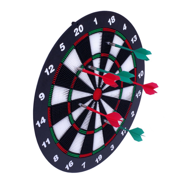 US $49 99 |Safe Polyethylene Dart Board Silent Wear resisting Dartboard  Sets Children Sports Toys English Type-in Toy Sports from Toys & Hobbies on