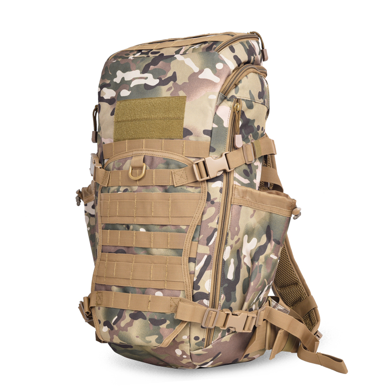 60L Army Tactical Outdoor Bags Multi Purpose 600D Waterproof Men Woman Backpacks Camping Hiking Climbing Outdoor Backpacks Bags acecamp 9053 outdoor camping multi purpose utility cord rope army green 30m