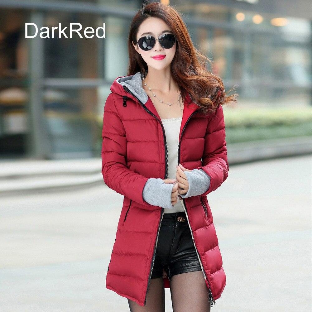 68ed4c6703 Προϊόν - Warm Winter Jackets Women Fashion Down Cotton Parkas Casual ...