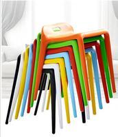 Kwadratowych stołku. plastikowe stolca... stół taboret. wysoka klej stołek ławki