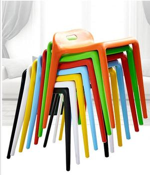 Square stool. Plastic stool... Table stool. High bench glue stool