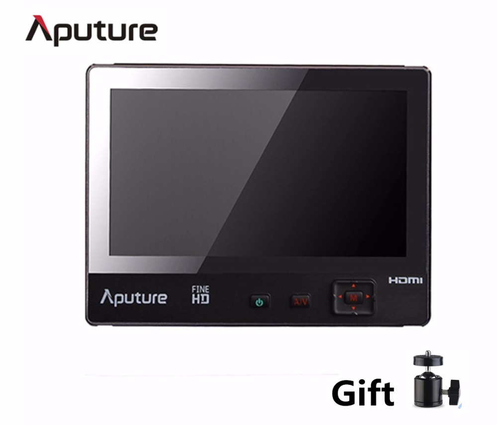 Aputure VS-1 FineHD Digital 7inch LCD Field Video Monitor,V-Screen VS-1 FineHD Field Monitor Accepts HDMI AV for DSLR Camcorder