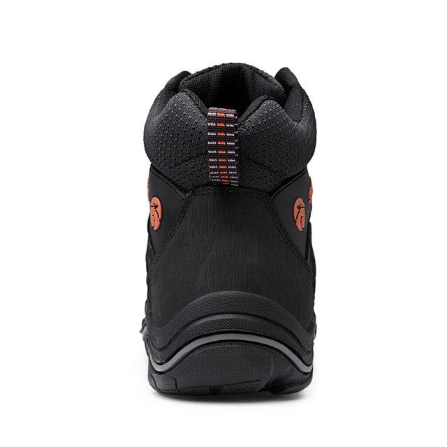 Nachrichten Mens Wandern Stiefel Wasserdichte Berg Trekking Schuhe Atmungsaktiv Wandern schuhe Leder Outdoor Sport Sneaker Jagd Schuhe