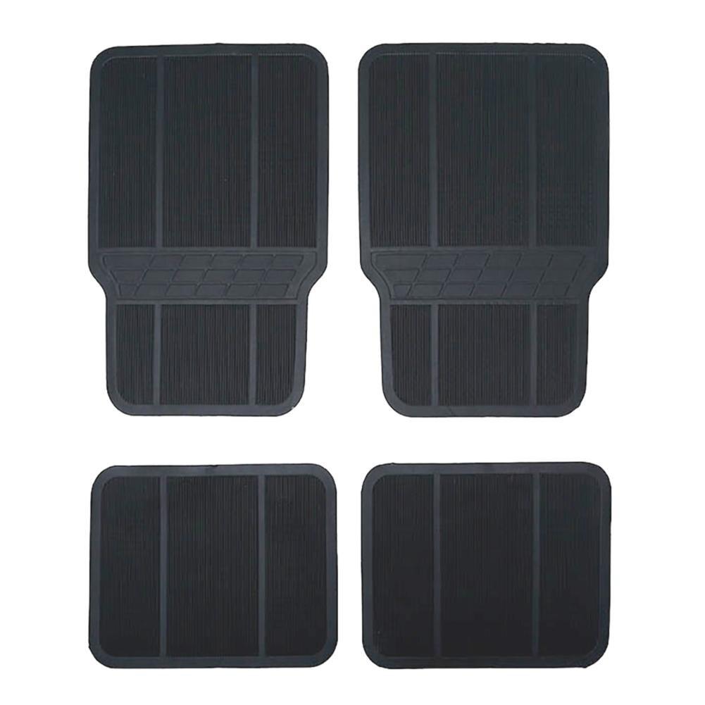 2018 New Arrival Versatile Car Anti-slip Mat Foot Pad Universal Black Car Foot Mat High Quality Mat J3 цена