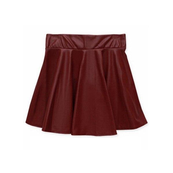 Aliexpress.com : Buy Wholesale NewLady Girls Faux Leather Skirt ...