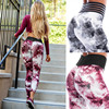 New 3D Printed Leggings Women High Waist Patchwork Pants Legging Push Up Fitness Sexy Hips Leggins Mujer Sexy Black Red Leggings